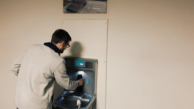 60 Water Bottle Filling Stations Added Around Campus – The